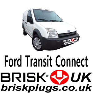 Fors Tourneo Transit Connect Spark Plugs LPG CNG Metano Brisk Racing UK