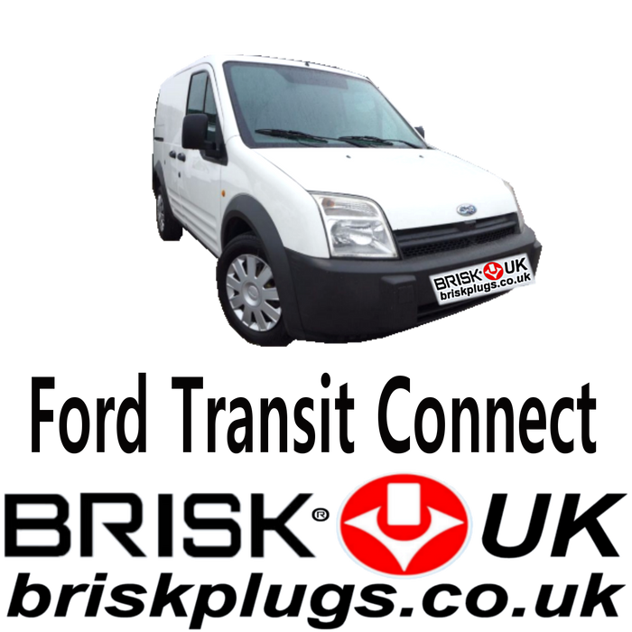Ford Tourneo Transit Connect Brisk Spark Plugs LPG CNG Methane 1.8 02-13