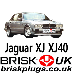 Jaguar XJ6 XJ12 Xj40 Performance Spark Plugs 84-94 Brisk UK