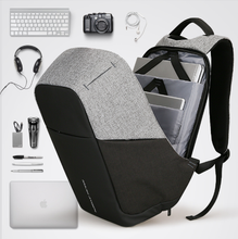 Load image into Gallery viewer, Multifunction USB Charging Men Backpacks Anti Thief