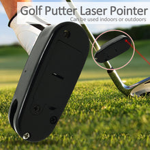 Load image into Gallery viewer, Black Golf Putter Laser Pointer Golf Accessories