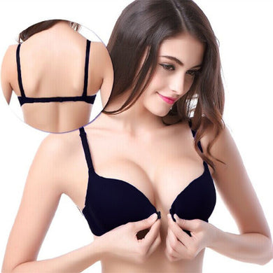 Fashion front Button Push Up Bra