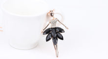 Load image into Gallery viewer, Maxi Alloy Enamel Dance BALLET Girl  Necklace Chain
