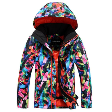 Kids Windproof Thermal Ski Jacket