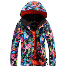Load image into Gallery viewer, Kids Windproof Thermal Ski Jacket