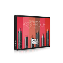 Load image into Gallery viewer, Make up set 6 Kiss proof Lipstick & Pencil sharpener & remover