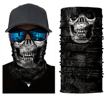 Load image into Gallery viewer, Seamless Skull Skeleton Joker Clown Balaclava Tube Neck Face Mask