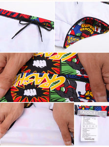 Men's Swimming Boxer Surf Board Shorts