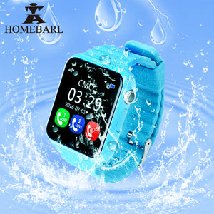 Children Security Anti Lost GPS Tracker Waterproof Smart Watch