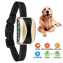 Load image into Gallery viewer, Waterproof Rechargeable Anti Bark Collar