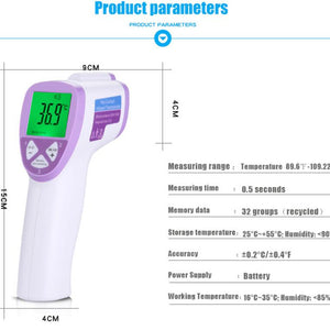New Digital Non Contact Thermometer For Baby