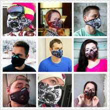 Load image into Gallery viewer, Activated Carbon Dust-proof Cycling Face Mask