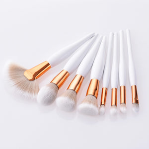 8Pcs Professional Makeup Brushes Set