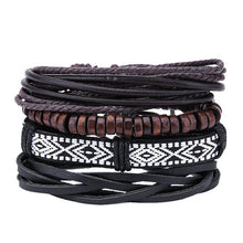Load image into Gallery viewer, Mens Street style Leather Bracelets