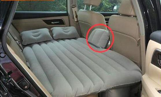 Air Mattress for Car Travel Back Seat Covers