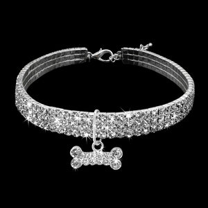 Bling Rhinestone Dog Collar