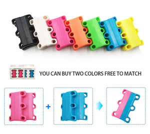 Magnetic Shoe Tie Buckles