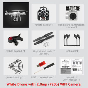 Quadrocopter Drones With HD WIFI Camera
