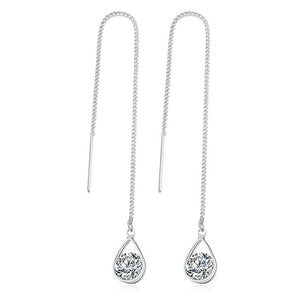 Fashion Crystal Water Drop Earrings for Women