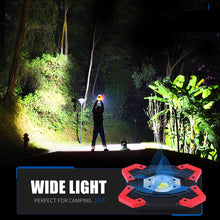 Load image into Gallery viewer, Camping Lantern Tent Flashlight Rechargeable Power Bank