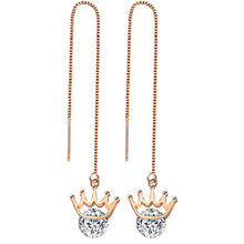 Load image into Gallery viewer, Fashion Crystal Water Drop Earrings for Women