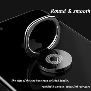Metal Finger Ring Stand Magnetic Car Phone Holder