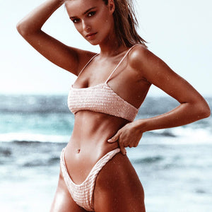Bikini Set High Cut Swimwear