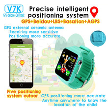 Load image into Gallery viewer, Children Security Anti Lost GPS Tracker Waterproof Smart Watch