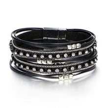 Load image into Gallery viewer, Fashion Stone Leather Bracelets For Woman