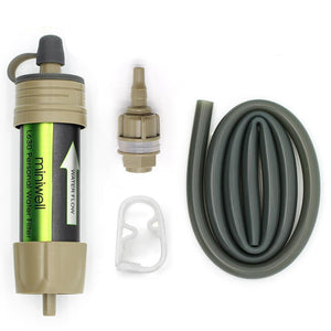 Mini Water filter system with 2000 Liters filtration capacity