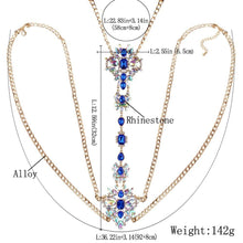 Load image into Gallery viewer, Body Belly Waist Charm Elegant Chain Party Necklace