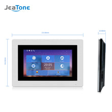Load image into Gallery viewer, 7'' WIFI IP Door Phone Video Intercom Wireless Door Bell Speaker