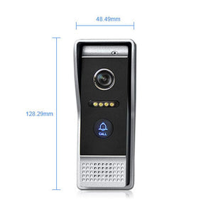 7'' WIFI IP Door Phone Video Intercom Wireless Door Bell Speaker