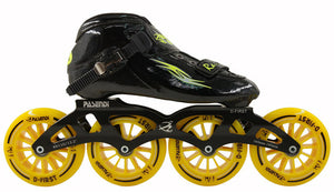 Professional inline Speed Skate Shoes 4 Wheels Roller Skates