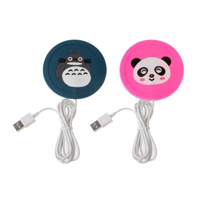 Cartoon 5V USB Silicone Warmer for Pad Mug