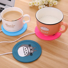Load image into Gallery viewer, Cartoon 5V USB Silicone Warmer for Pad Mug