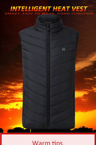 New Men Electric Heated Thermal Vest