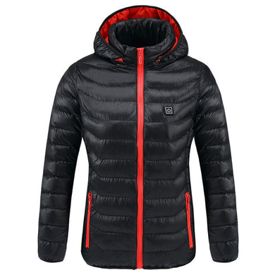 New Women USB Heated Thermal Winter Jackets