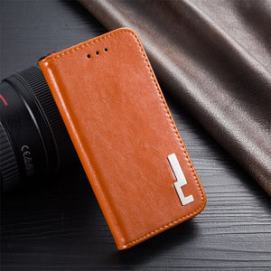 Luxury Unique leather cell phone cover For Nokia Lumia