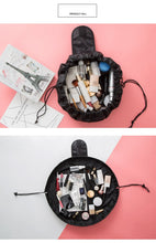 Load image into Gallery viewer, New Fashion Cosmetic Bag Professional Drawstring Makeup Case