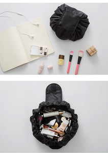 New Fashion Cosmetic Bag Professional Drawstring Makeup Case
