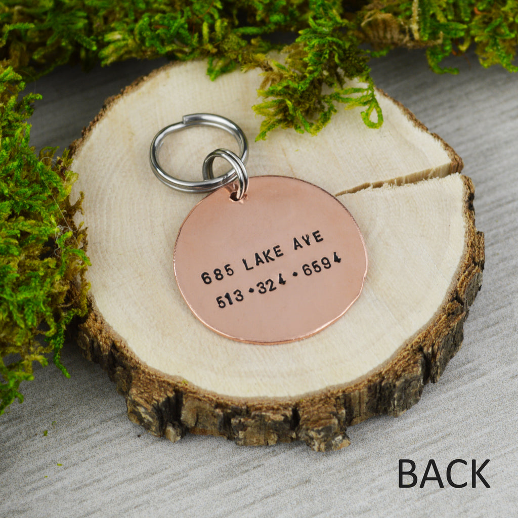 Moonlit Night Pet ID Tag