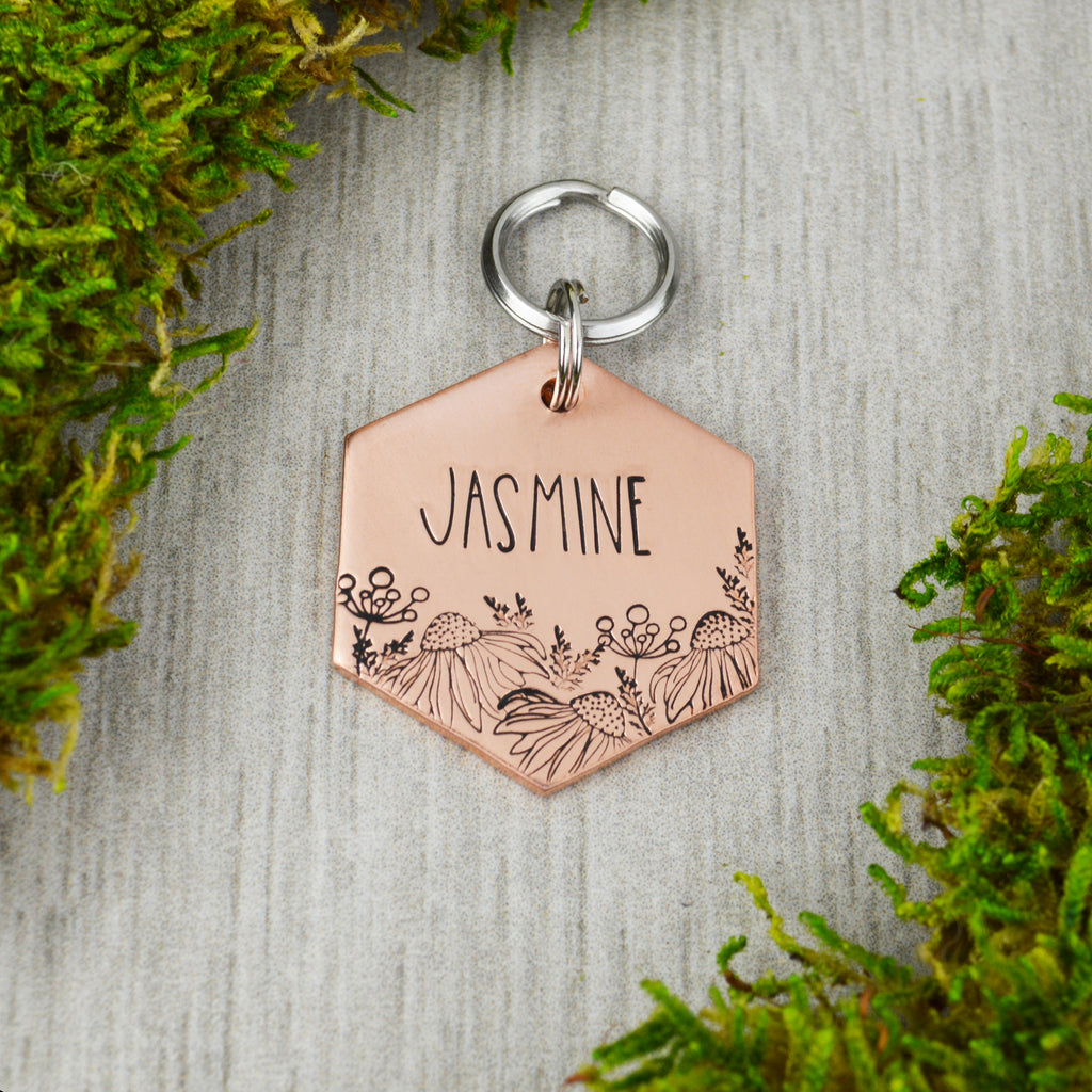 Wild Meadow Pet ID Tag