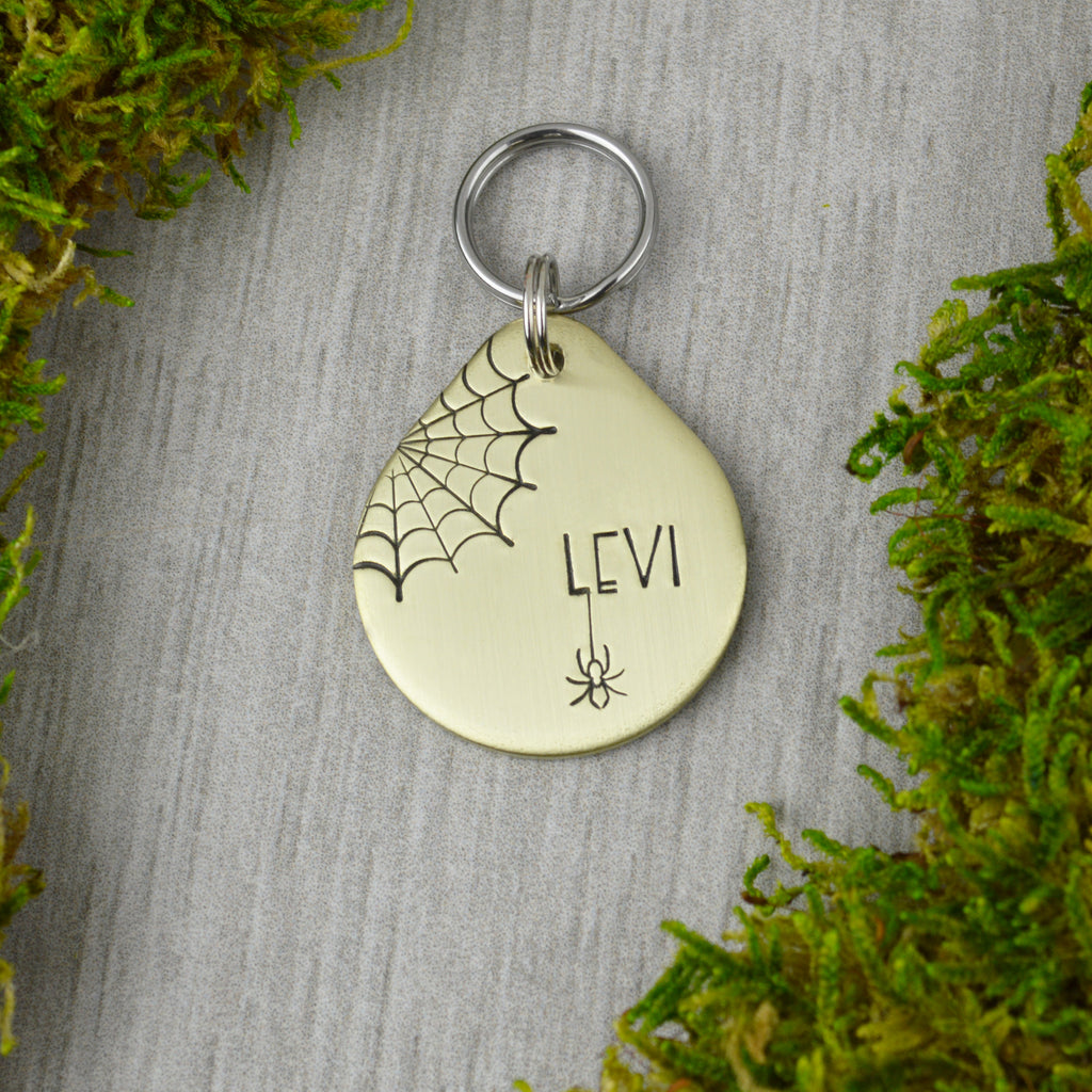 Orb Weaver Pet ID Tag