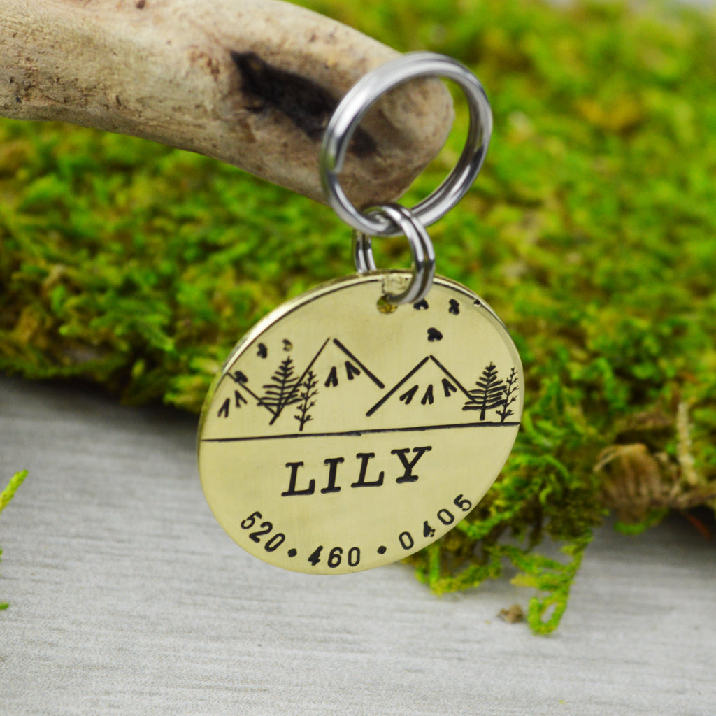 Three Sisters Pet ID Tag