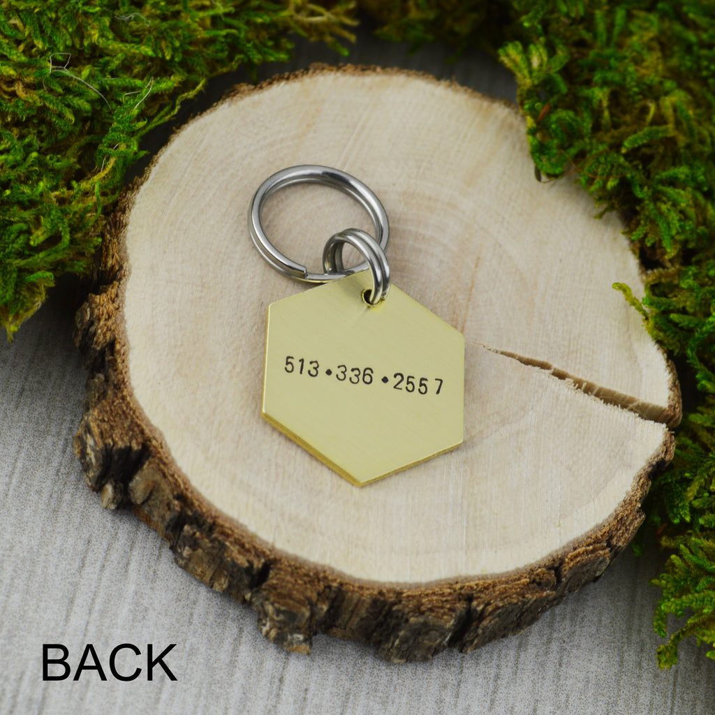 Above the Peaks Mini Pet ID Tag