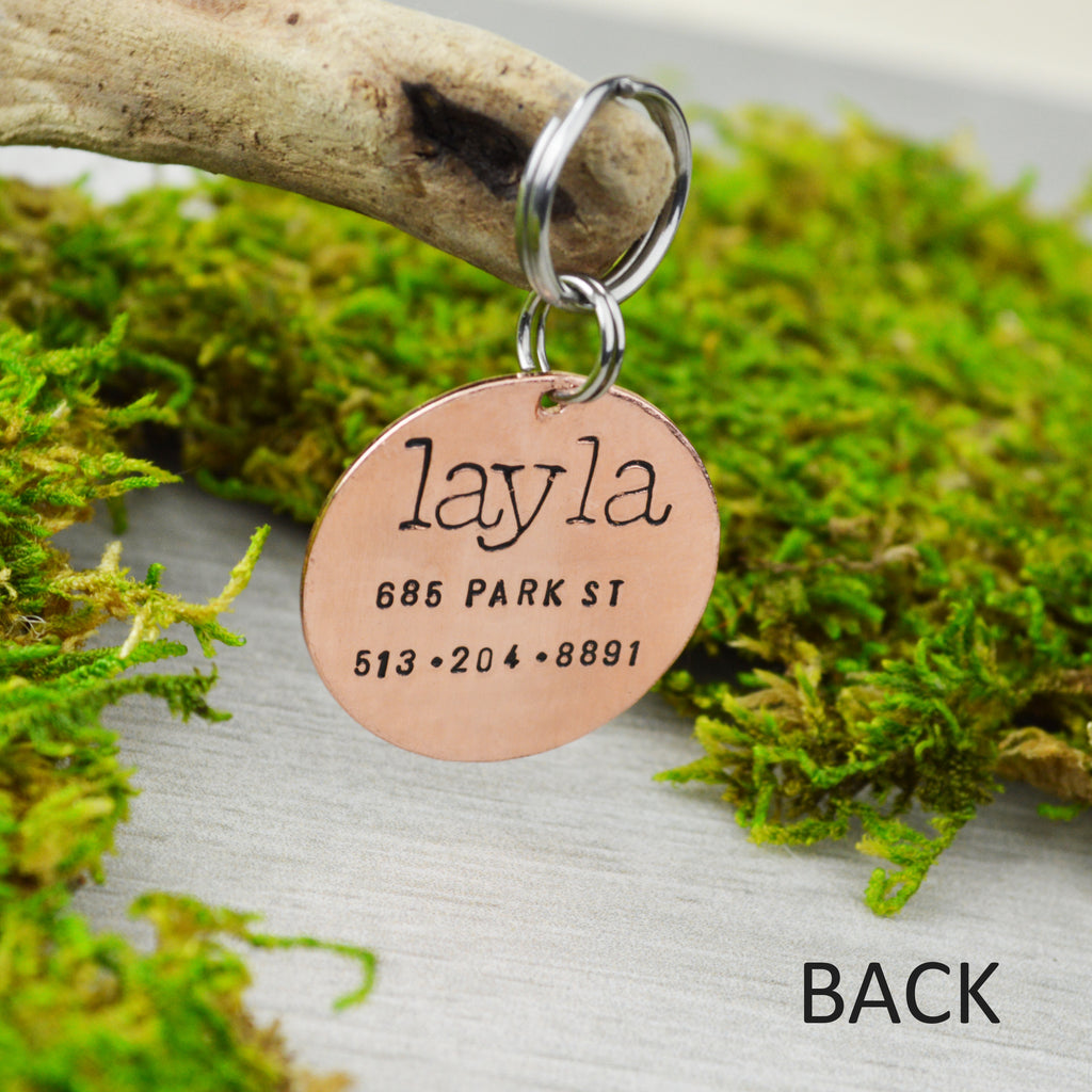 Bird in the Garden Pet ID Tag