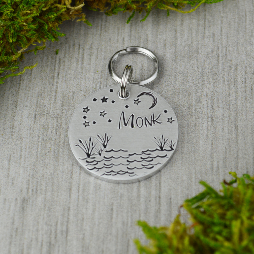 Starlight on the Lake Pet ID Tag