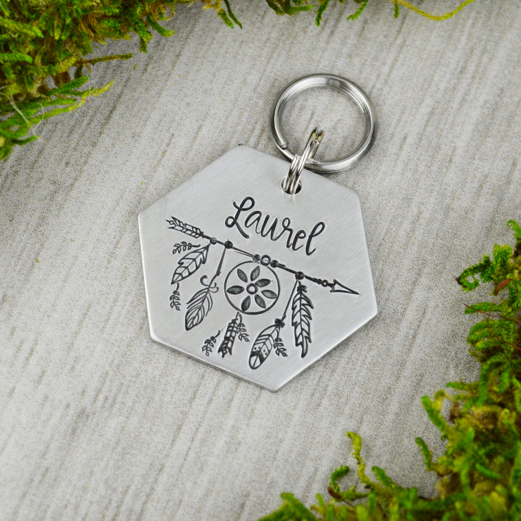 Catching Dreams Pet ID Tag