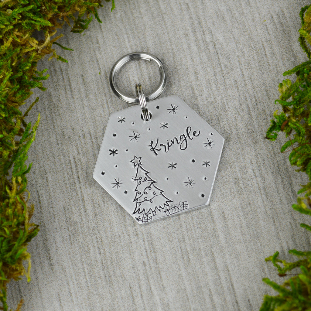 Oh Christmas Tree Pet ID Tag